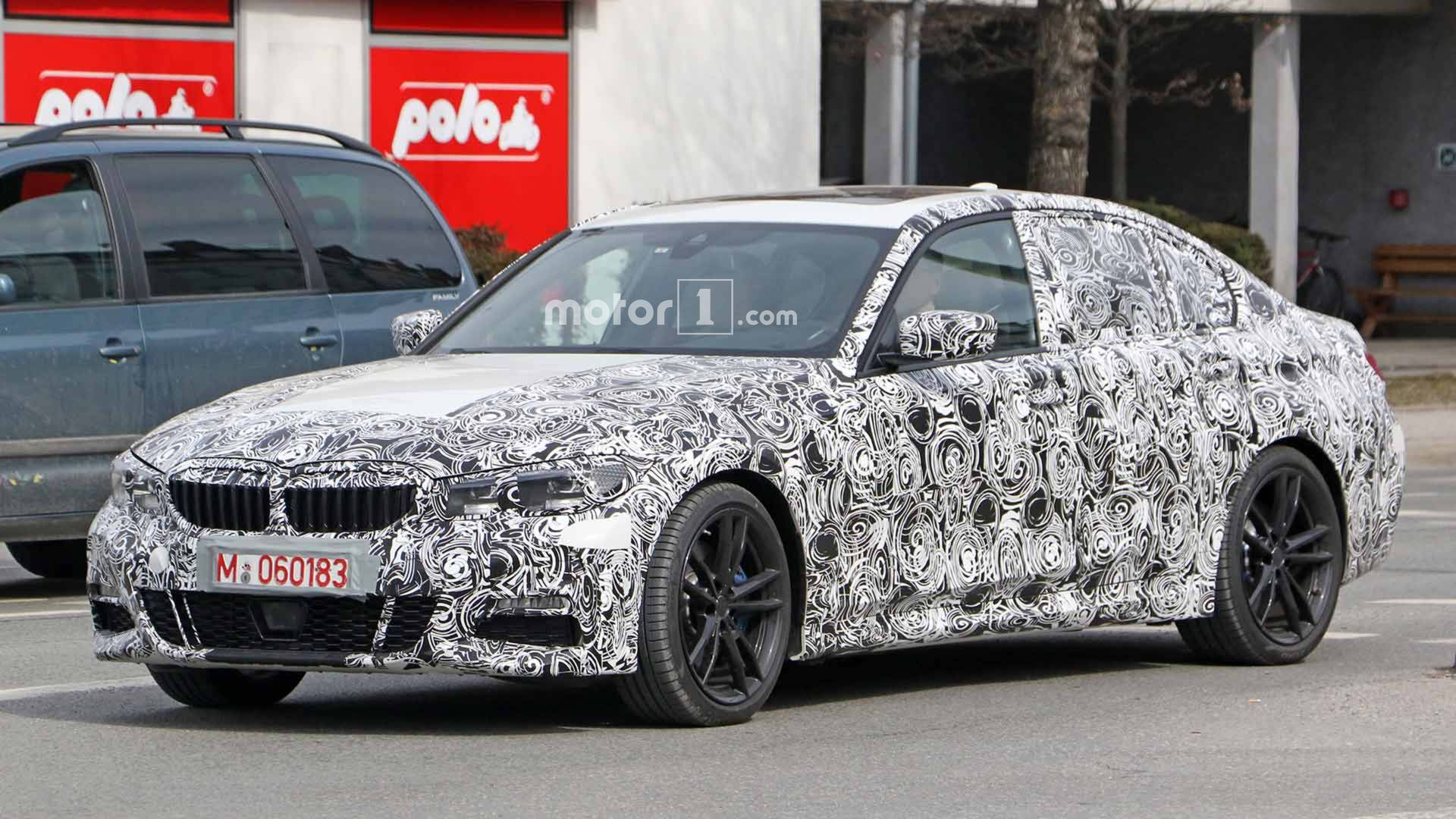 Next Gen Bmw 3 Series Spied Showing Off Its High Tech Cabin 328 Front Wiring