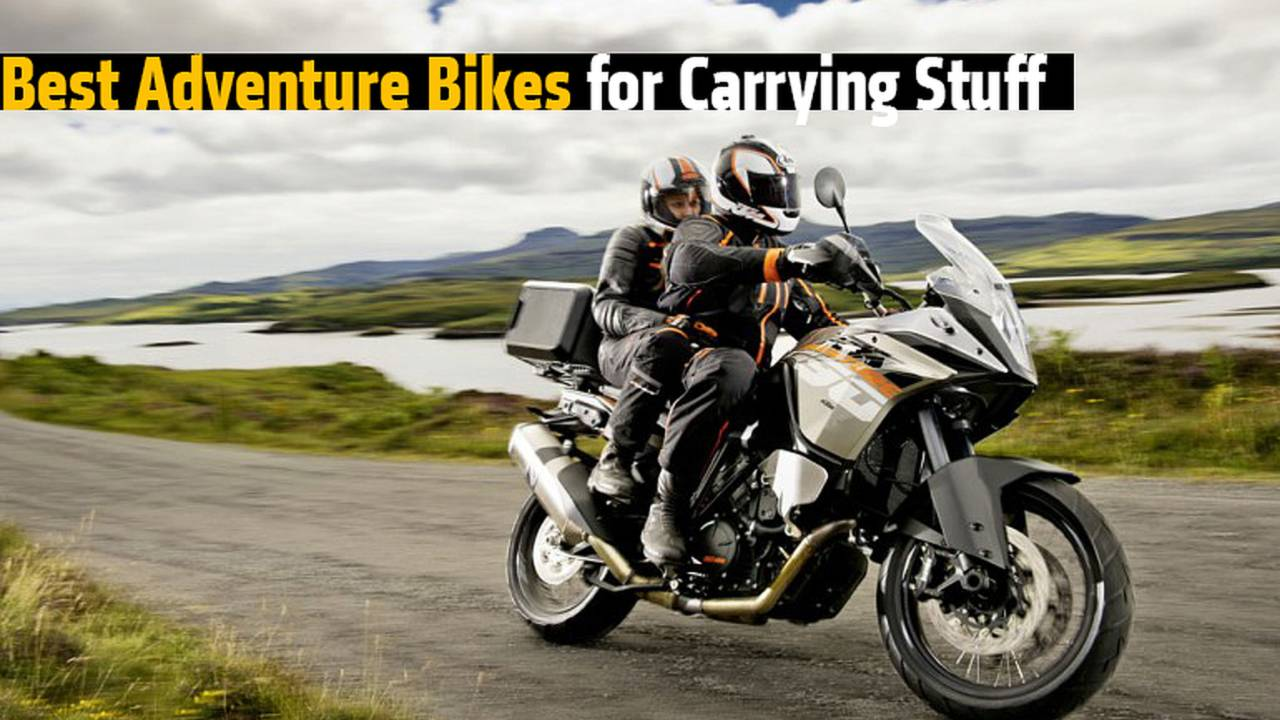 Best Adventure Bikes for Carrying Stuff