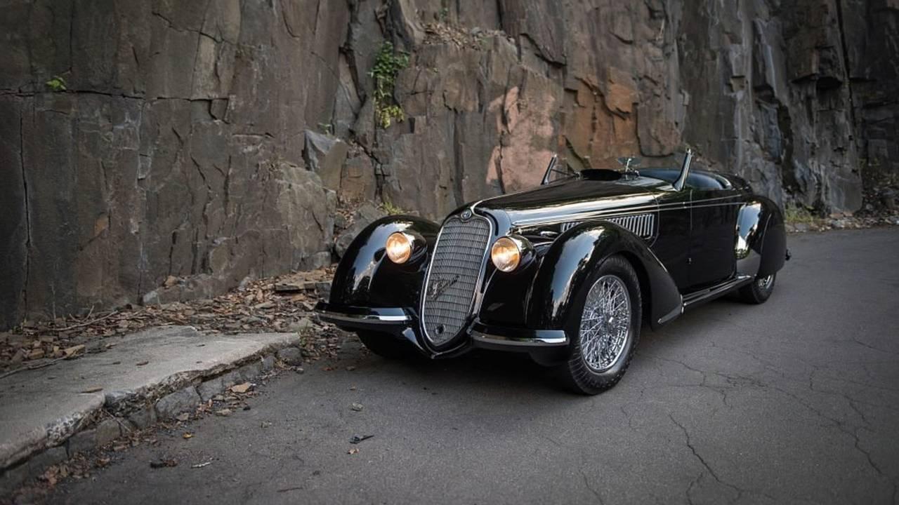 9.- Alfa Romeo 8C 2900B Lungo Spider (1939)