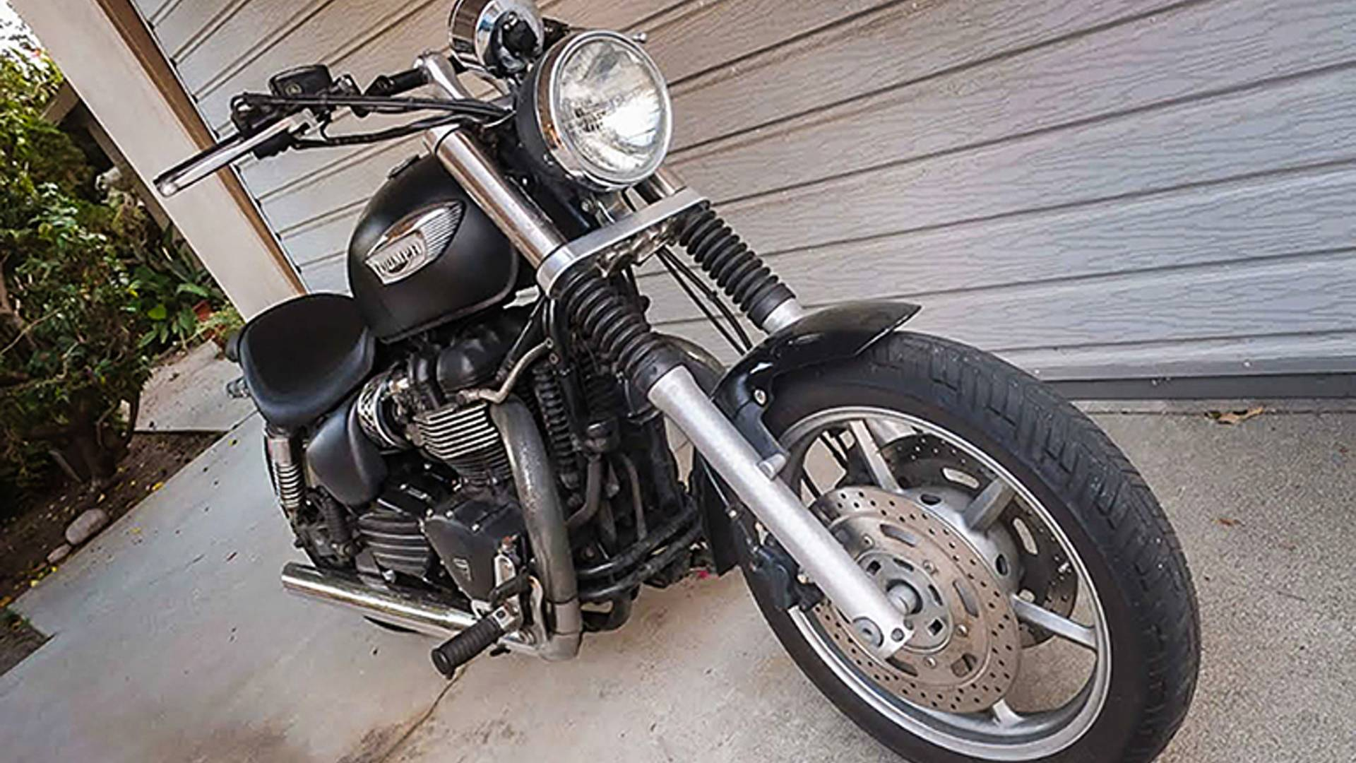 Customizing A Triumph Speedmaster How Hard Could It Be