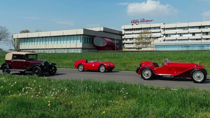 Alfa Romeo prépare ses célébrations pour les Mille Miglia 2018