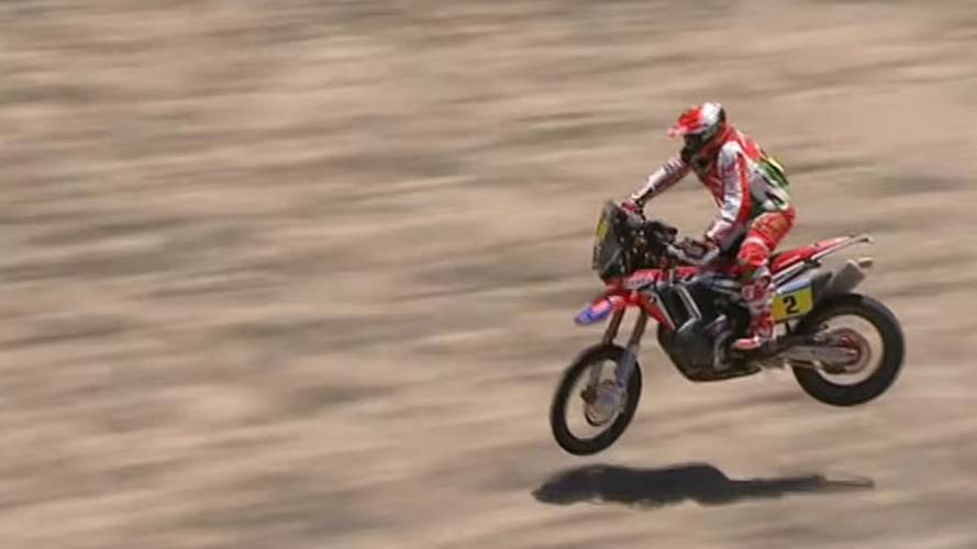 This 2016 Dakar High-Side is Unbelievable