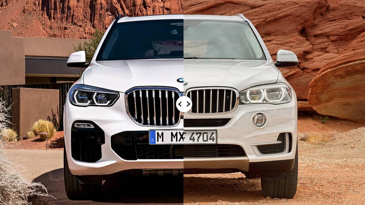 BMW X5, il confronto