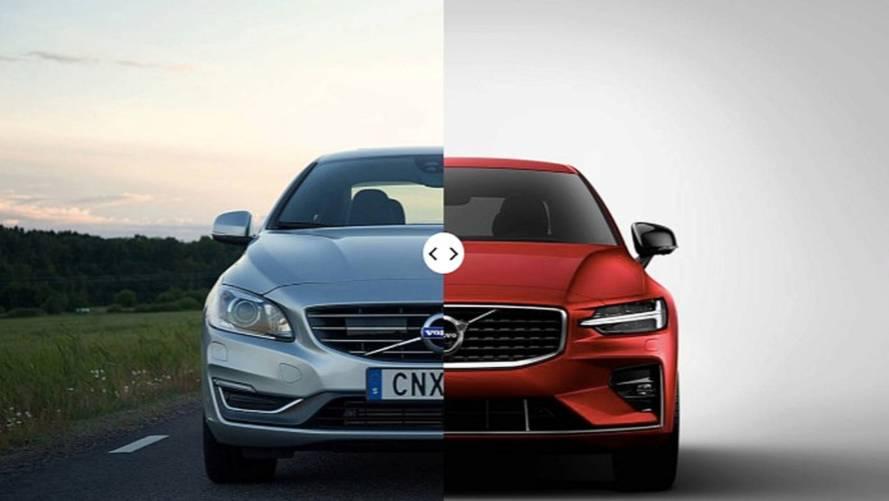 Volvo S60, nuova e vecchia a confronto