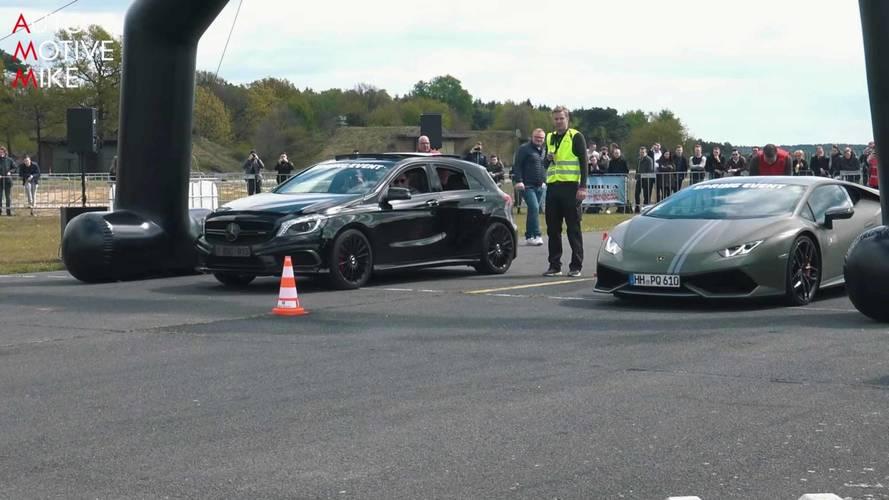 Mercedes-AMG A45 modelleri, önüne gelenle yarışıyor