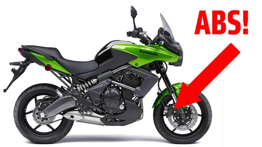 New: 2014 Kawasaki Versys ABS - Photos and Specs