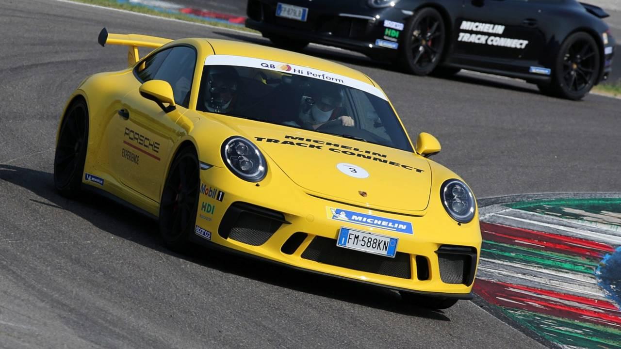 Michelin Track Connect Porsche