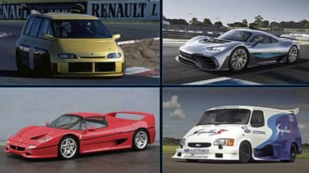 Formula 1'den türetilmiş motorlara sahip 10 otomobil