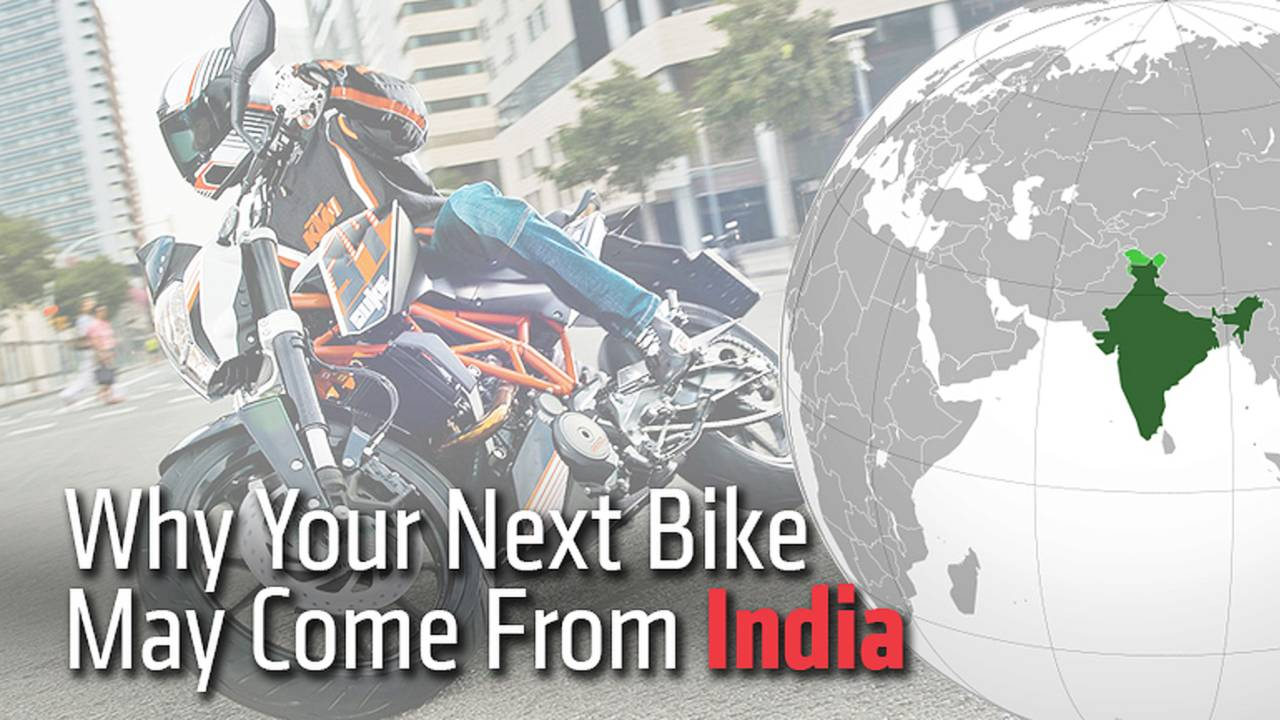 Why Your Next Bike May Come From India