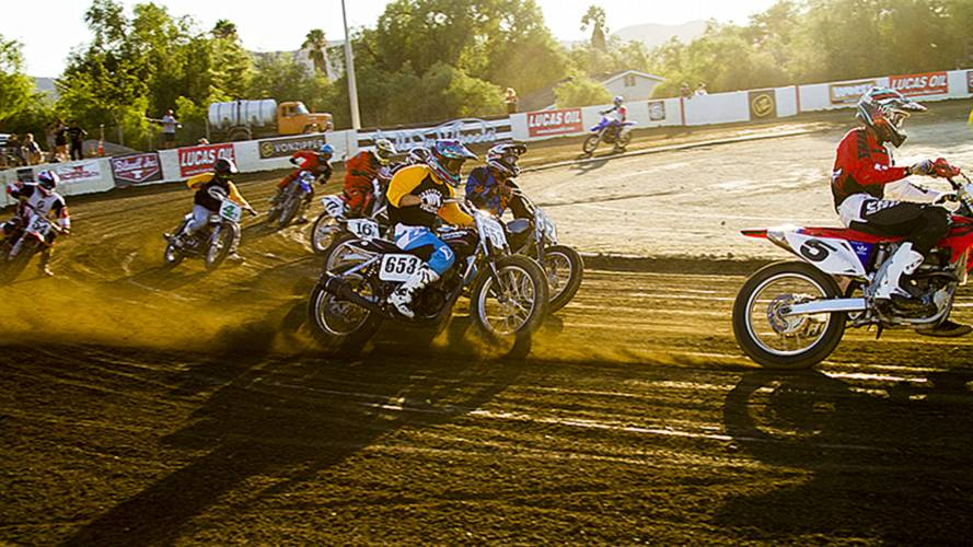Vintage Flat Track Racing Photo Recap - Hot August Nights, Hell on Wheels