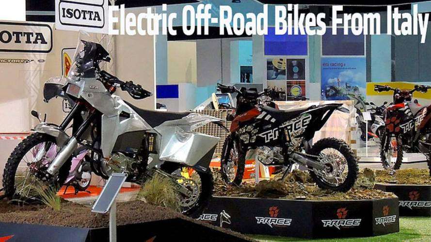 Three New Electric Off-Road Bikes From Italy