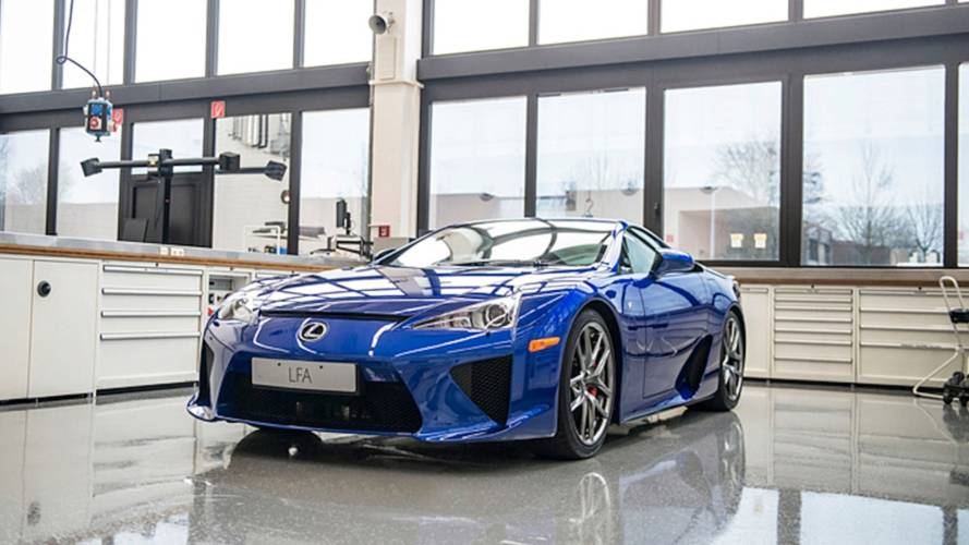 Lexus UK Talks About How It Services Its Own LFA