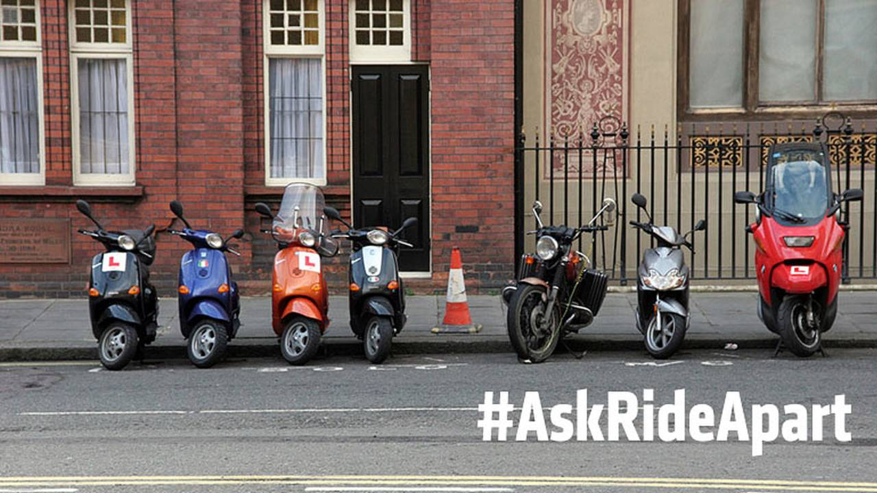 Ask RideApart: How Do I Safely Park My Motorcycle On The Street