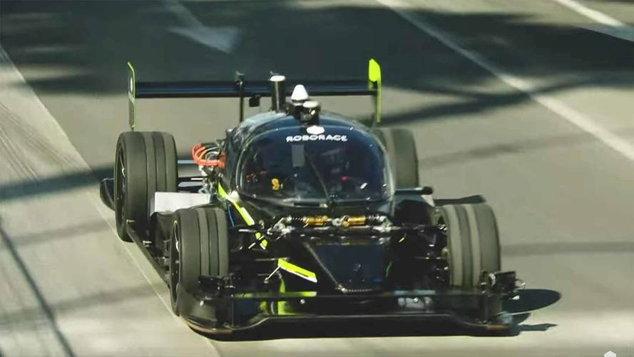 Can Roborace's Autonomous DevBot Beat Ryan Tuerck Around A Track?