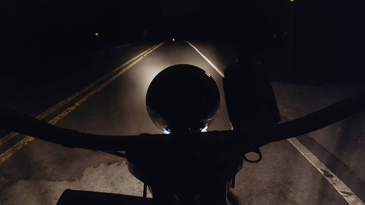 Riding Into the Darkness