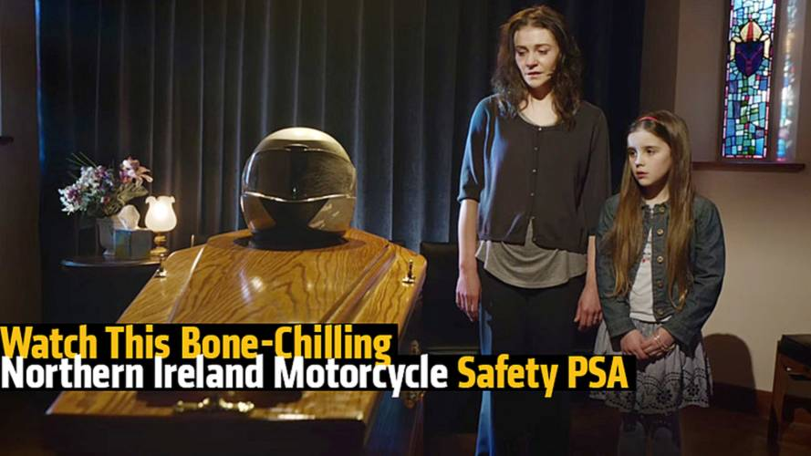 Watch This Bone-Chilling Northern Ireland Motorcycle Safety PSA