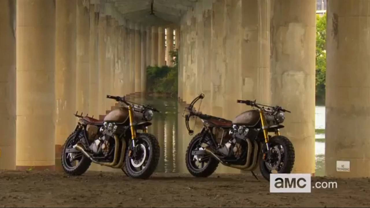 The Walking Dead and Daryl Dixon's New Motorcycle From Classified Moto