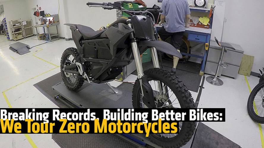 Breaking Records, Building Better Bikes: We Tour Zero Motorcycles