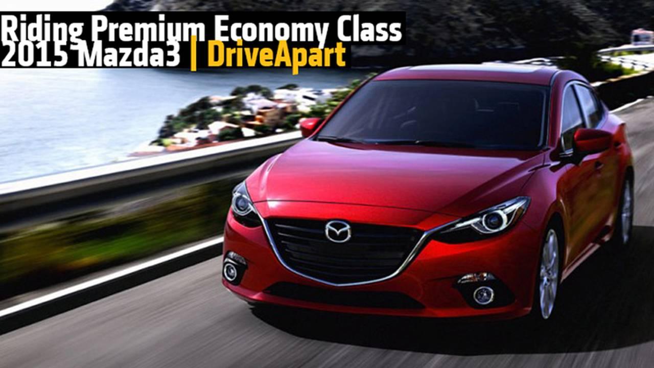 Riding Premium Economy Class - The 2015 Mazda3