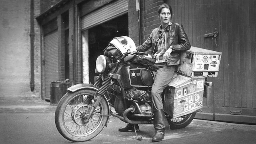 Video: First British Woman to Travel the World on Two-Wheels