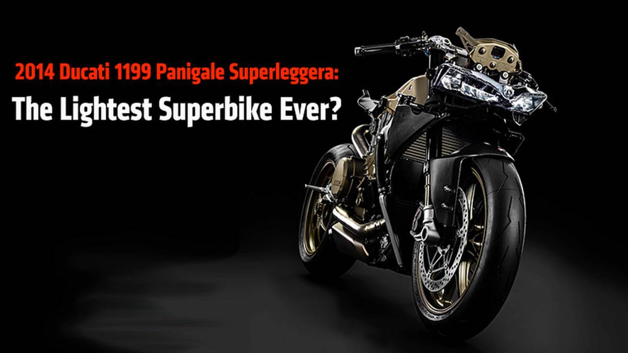 Leaked: 2014 Ducati 1199 Panigale Superleggera — First Photos