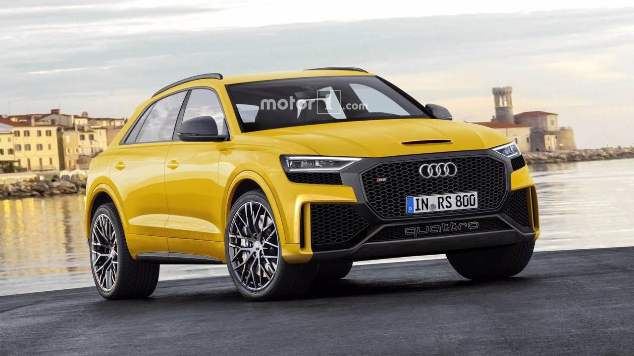 2019 Audi Q8 Rs