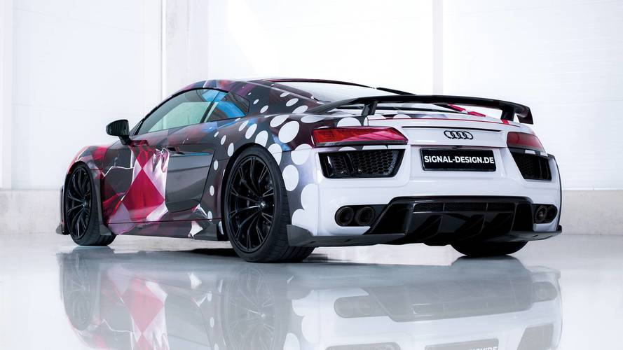 ABT Audi R8 Timo Wuerz Art Car