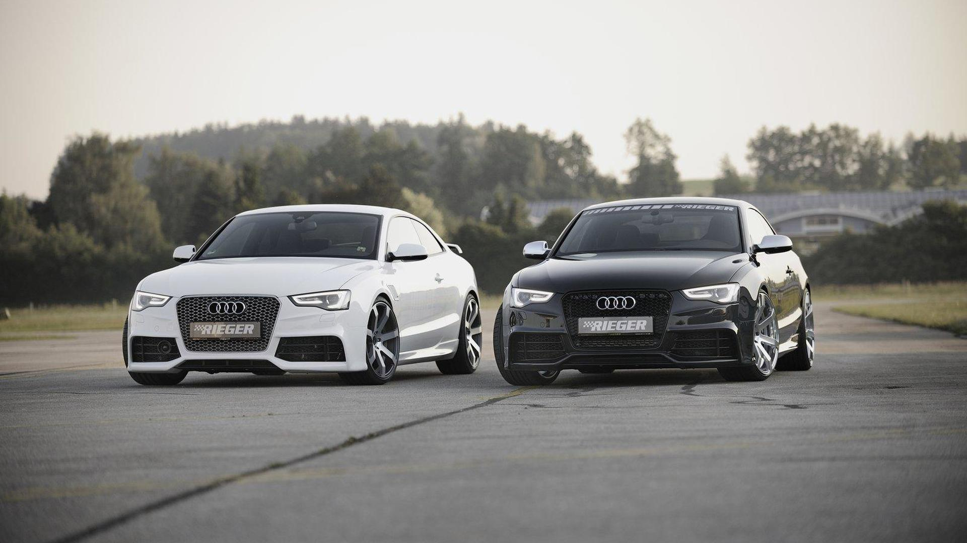 Audi A5 Facelift By Rieger 27 06 2012 987872