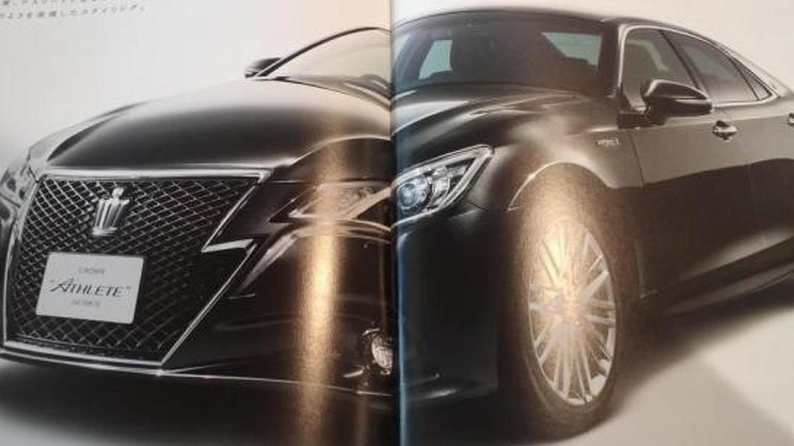 2013 Toyota Crown revealed in leaked brochure