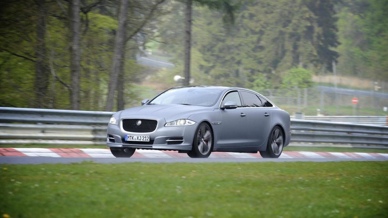 Jaguar XJ Supersport Nürburgring taxi 04.5.2012
