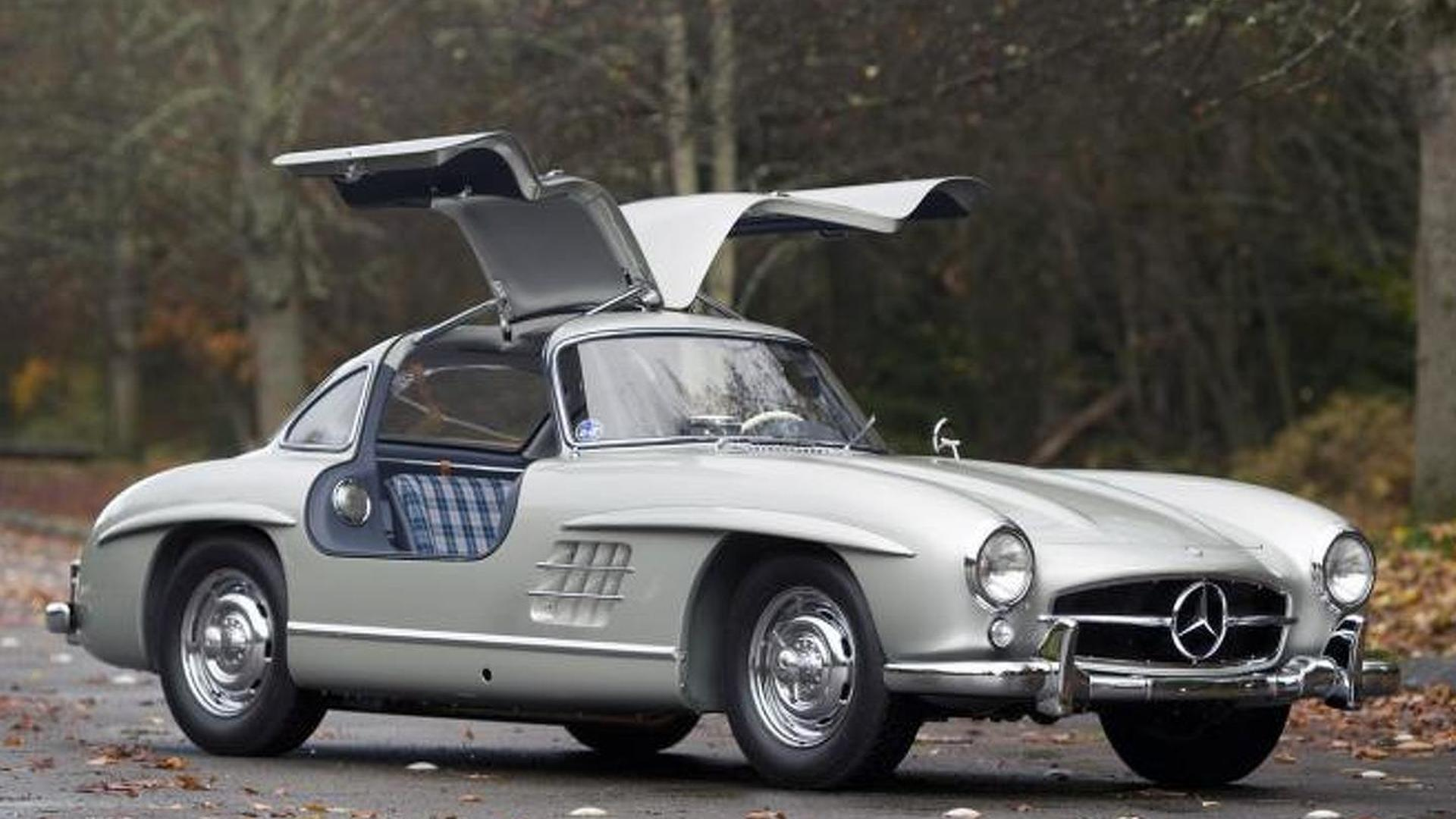 Rare 1955 Mercedes Benz 300 Sl Alloy Gullwing Sells For 4 62m