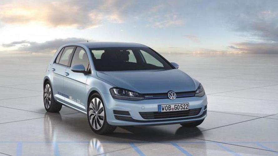 Volkswagen Golf VII BlueMotion concept is the most economical Golf yet