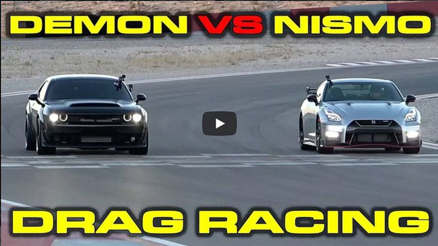 VIDÉO - Quand la Nissan GT-R Nismo se frotte à la Dodge Challenger SRT Demon