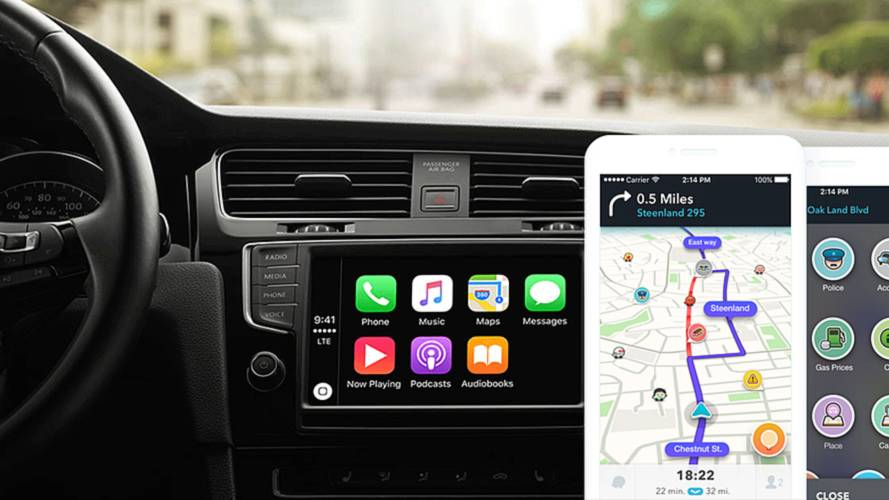 apple carplay waze et google maps et d 39 autres d barquent sur ios 12. Black Bedroom Furniture Sets. Home Design Ideas