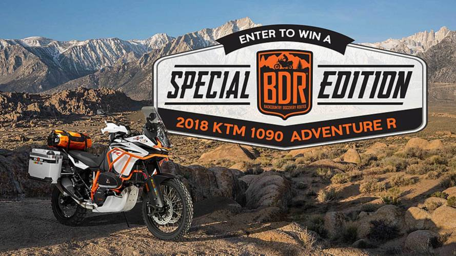 Win a KTM 1090 Adventure R and Help a Good Cause