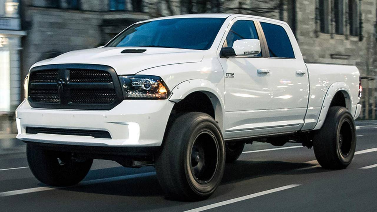 ram 1500 bigfoot edition stands tall thanks to german tuner. Black Bedroom Furniture Sets. Home Design Ideas