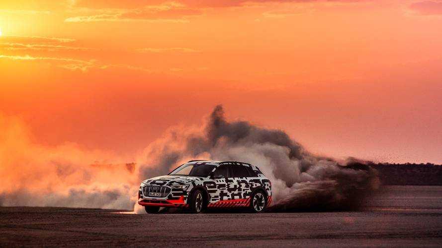 Audi E-Tron'un sürüş dinamikleri benzersiz olacak