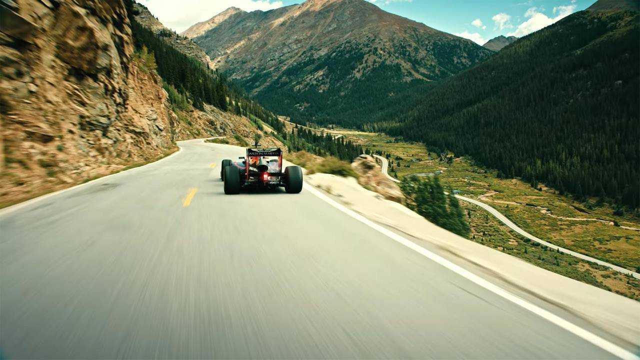 Max Verstappen Drives Through America