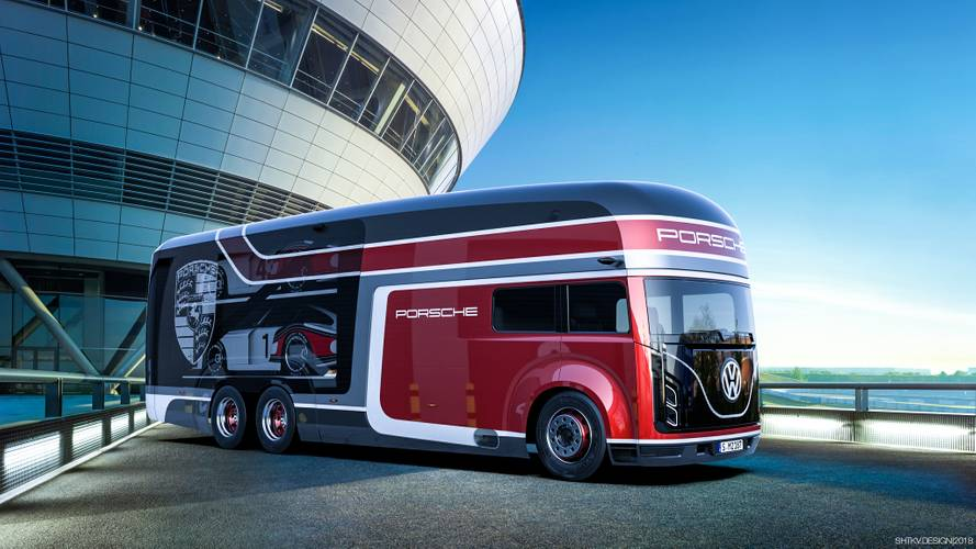 Porsche Transporter Concept is the only way to move your 935
