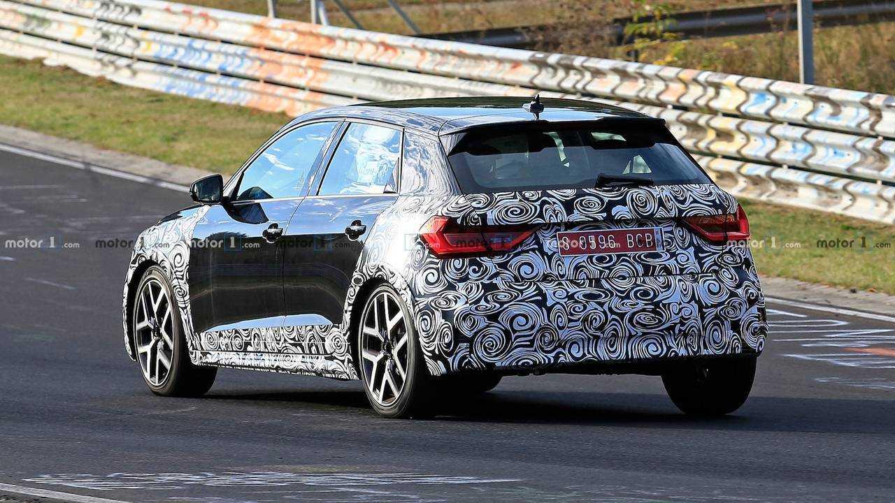Audi A1 allroad 2019: fotos espía