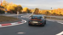 2020 Porsche 911 GT3 Spy Video Screenshots
