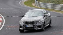 BMW X6 M Spy Photo