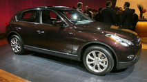 Infiniti EX35 at Los Angeles Motor Show
