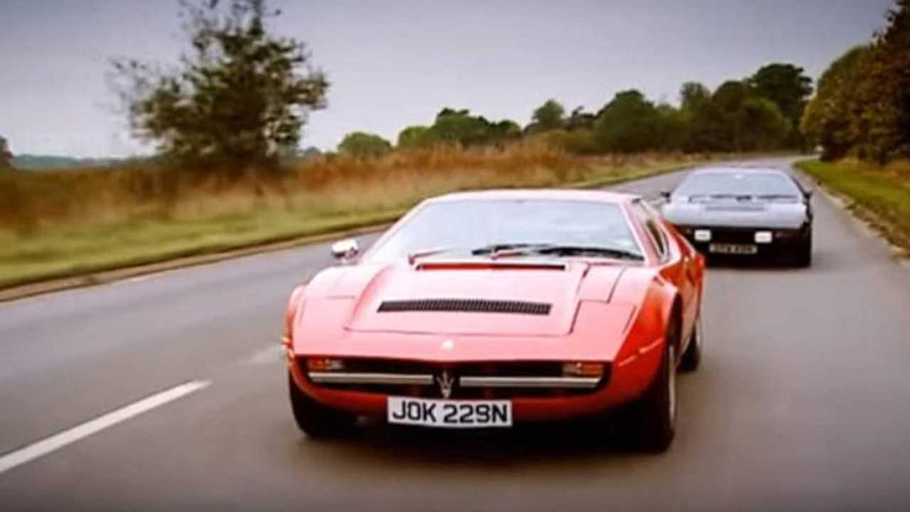 Jeremy Clarkson ve 1975 Maserati Merak