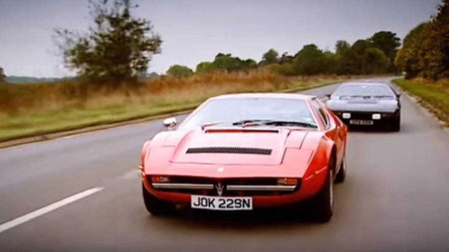 Jeremy Clarkson'un eski model Maserati'si hurdaya ayrılmış