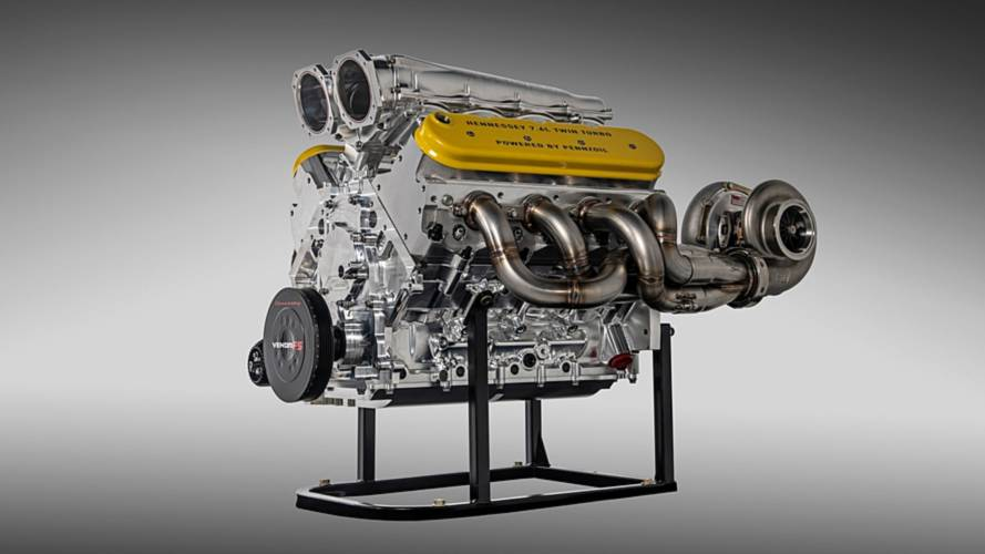 Hennessey Tested Its Venom F5 Engine At Over 2,000 Horsepower