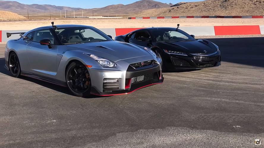 Acura NSX Races Nissan GT-R Nismo For Japanese Supercar Supremacy