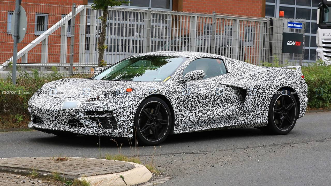 Mid-Engine Corvette Spy Photo