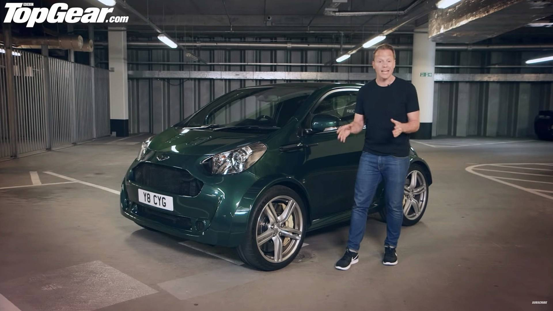 Top Gear Checks Out The Aston Martin Cygnet V8
