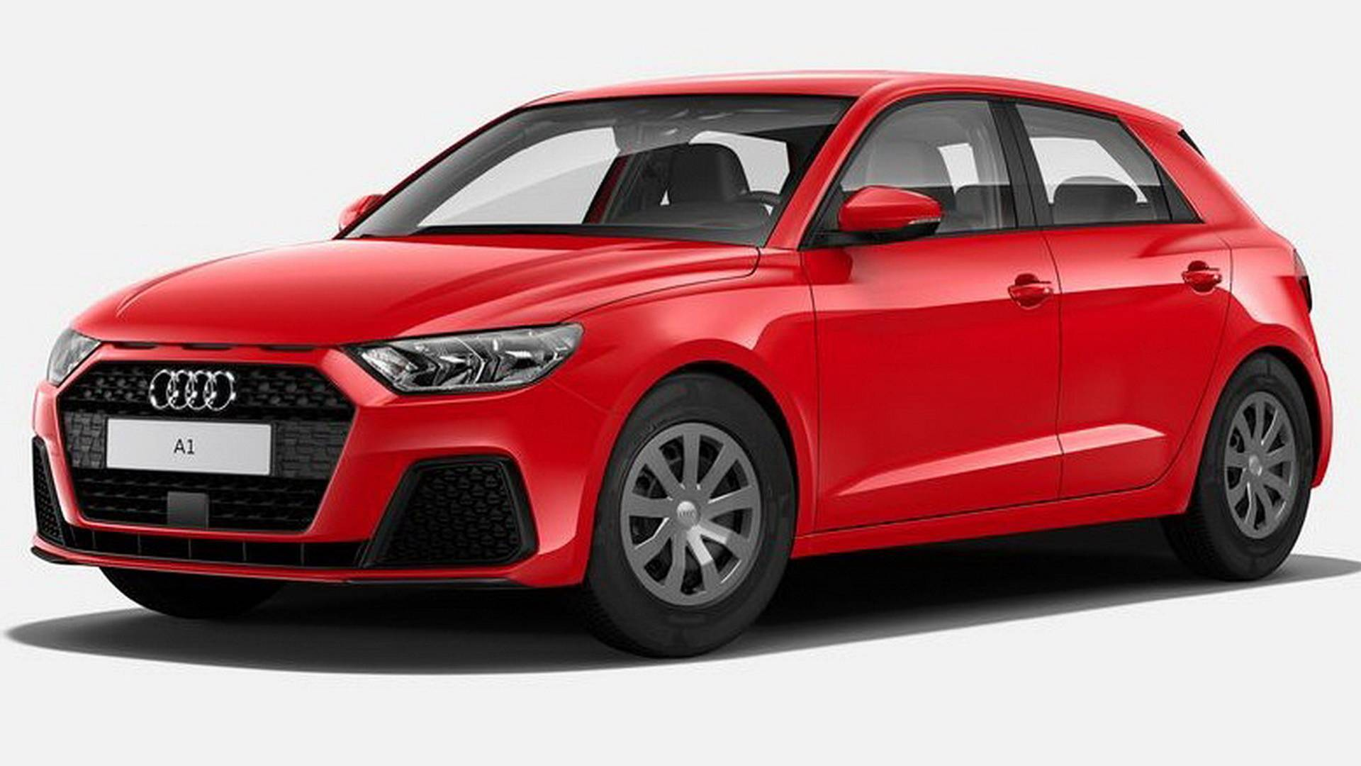 Here S The Most Basic Audi A1 Money Can Buy Hubcaps No Radio
